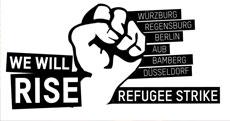 Flüchtlings Protest Bewegung